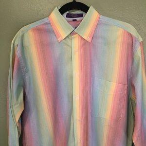 Alan Flusser Button Down Long Sleeve Shirt
